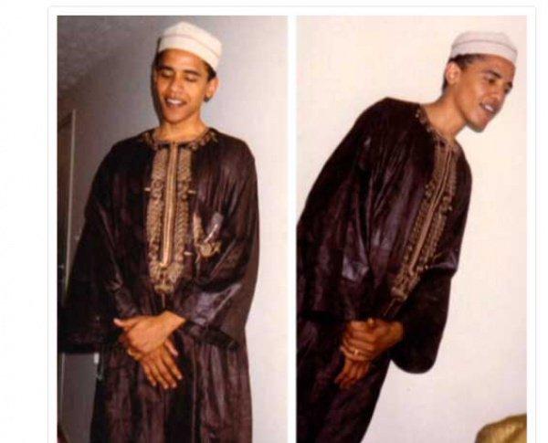 Обнародованные фото Барака Обамы.