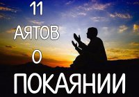 11 аятов о том, что стирает наши грехи