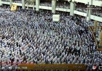 Потрясающие кадры: Праздничный намаз в честь 'Ид аль-Фитр в Запретной мечети