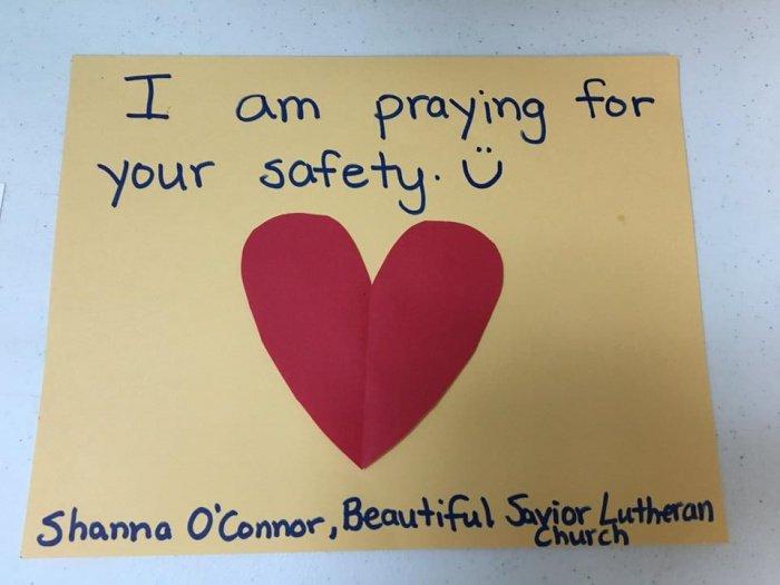 """""""Я молюсь за вашу безопасность"""". Шанна О'Коннор. Лютеранская церковь"""