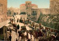 20 редчайших цветных фото Ближнего Востока 120-летней давности