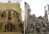 13 душераздирающих фото Сирии до и после войны
