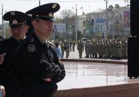 Экстремисты устроили стрельбу у отдела полиции в Алма-Ате