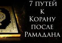 На связи с Кораном: 7 путей к Корану после Рамадана