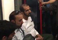 Это правитель Дубая в лондонской подземке?!