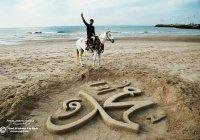 Потрясающие песочные фигуры палестинского скульптора