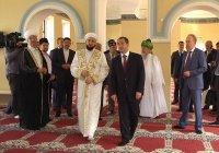 Михаил Бабич, Рустам Минниханов и Минтимер Шаймиев посетили комплекс Галеевской мечети (ФОТОРЕПОРТАЖ)