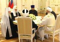 Состоялась первая в истории встреча главы РПЦ с лидерами татарстанского духовенства