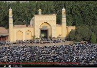 Впечатляющие кадры: праздничный намаз в самой большой мечети Китая