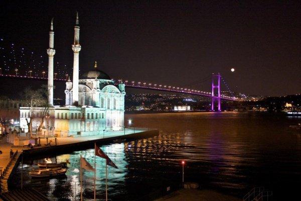 Босфорский мост в Турции