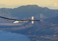 Самолет на солнечных батареях совершил кругосветное путешествие