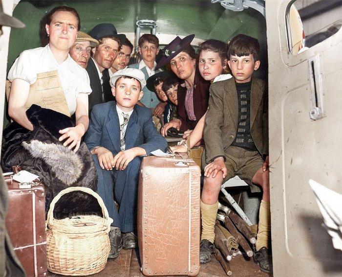 Как Сирия приютила европейских беженцев 72 года назад (11 ФОТО)