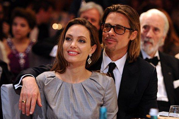 Звездная чета Джоли и Питт