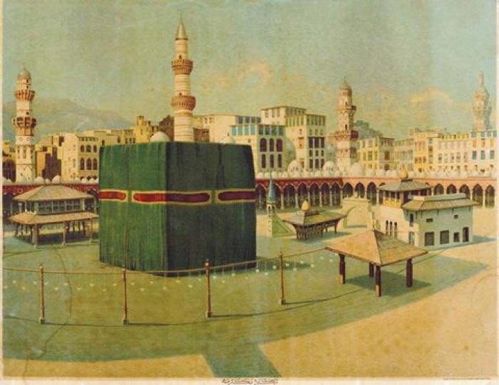 Кааба в 1900 г.