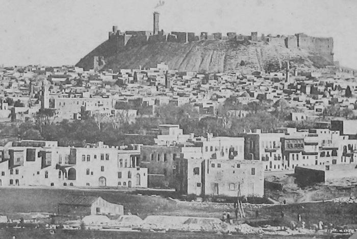 Цитадель Алеппо, Сирия, начало XX в.