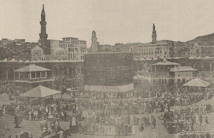Кааба в 1914 г.