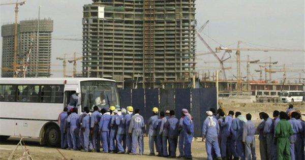 Современное рабство в ОАЭ.