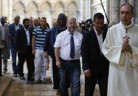 Мусульмане Франции почтили память убитого священника (Фото)