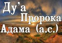 Ду'а, с помощью которого Адам (а.с.) просил прощения у Всевышнего