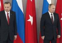 Стали известны темы предстоящих переговоров Путина и Эрдогана