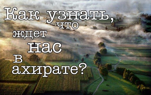 Что ждет нас в раю?