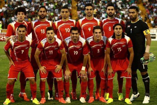 Сборная Сирии пофутболу будет тренироваться в Российской Федерации