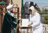 Муфтий РТ открыл новую мечеть (Фото)