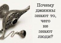 Почему джинны знают то, чего не может знать человек?
