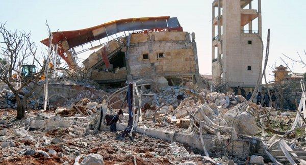 ВСирии разбомблена детская клиника «Врачей без границ»