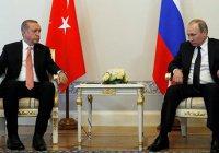 Встреча Путина и Эрдогана началась с рукопожатия