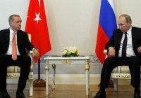 """Путин:""""У нас с Турцией есть общая цель"""""""