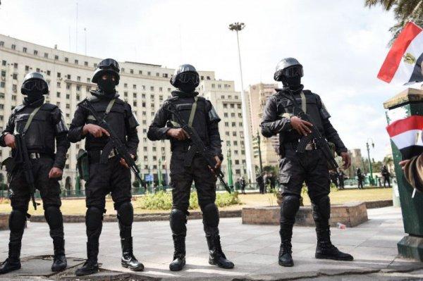 Египетские полицейские.