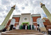 Муфтий РТ выступил на церемонии открытия Центральной мечети в Ижевске (Фото, видео)