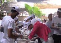 Волонтеров фонда Кадырова наградили в Сирии