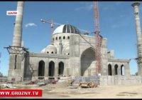 В Чечне завершается строительство мечети имени Рамзана Кадырова