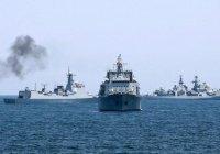 Россия начала антитеррористические учения в Средиземном море