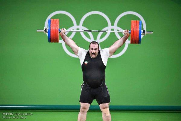 Бехдад Салими на Олимпиаде в Рио.
