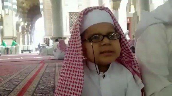 Юный хафиз.