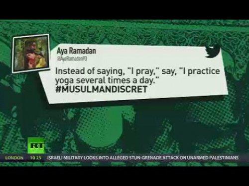 Интернет-пользователи запустили хештег #MusulmanDiscret.