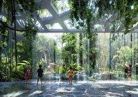 В Дубае откроется отель с тропическим лесом внутри (Фото)
