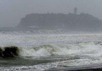 Япония пострадала от двух тайфунов