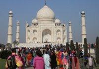 Туристов ограничат в посещении Тадж-Махала