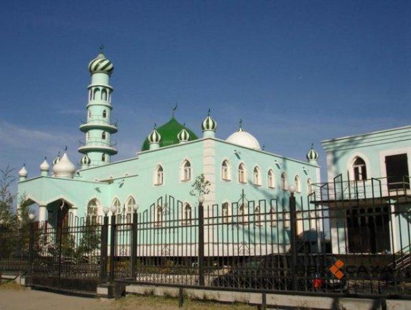 Соборная мечеть Якутска.