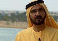 СМИ: правитель Дубая стал самой популярной личностью в интернете