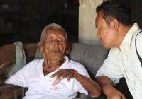 В Индонезии нашли самого пожилого человека на Земле (Видео)
