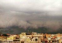 Сильная буря в Риме