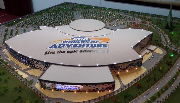 Крупнейший крытый парк развлечений вмире открылся вДубае