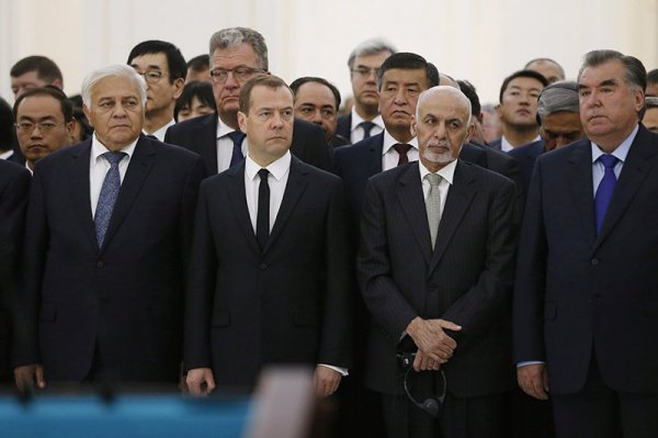 В Узбекистане простились с Исламом Каримовым (Фото)