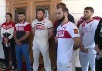 Рамзан Кадыров вручил олимпийцам Мерседесы (Видео)