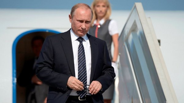 Поездка Владимира Путина в Самарканд.